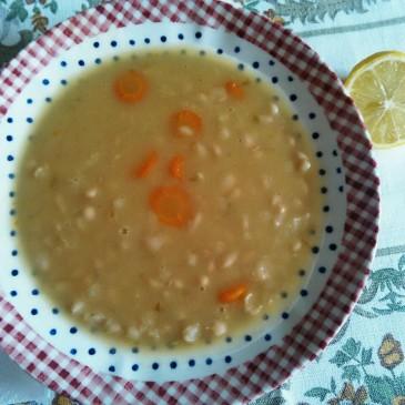 Fasoláda- fazolová polévka